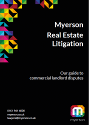 Guide to Commercial Landlord Disputes Cover