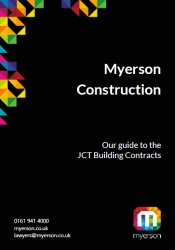Myerson Construction Guide to JCT Building Contracts Image