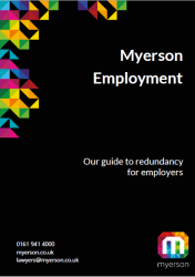 Myerson Employment Guide on Redundancy for Employers