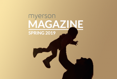 Myerson Magazine Spring 2019 Issue